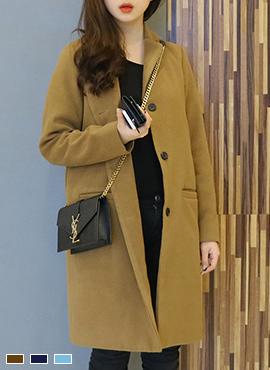 브라우니 coat (3color)